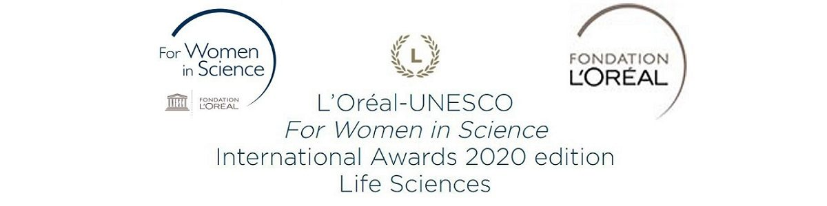L'Oréal-UNESCO For Women in Science Awards 2020