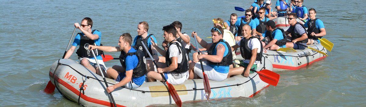 Mariborski študentje tekmovali v raftih