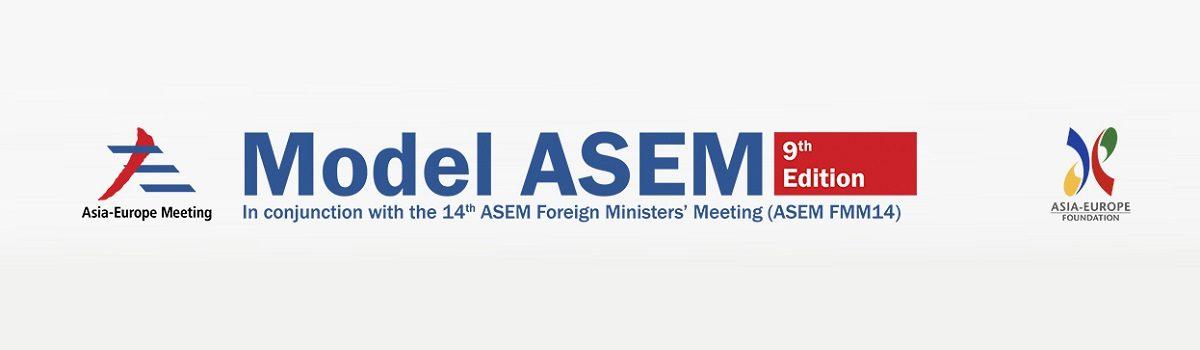 9. konferenca Model ASEM